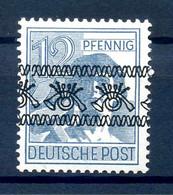 BIZONE 1948 Nr 40I K Postfrisch (408079) - American/British Zone
