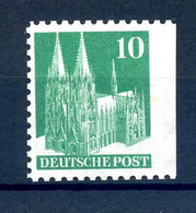 BIZONE 1948 Nr 80V WF Ues Postfrisch (408089) - American/British Zone