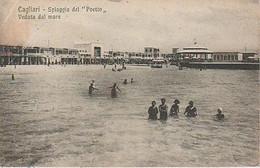 CAGLIARI  ( SARDIGNE  )   BORD  DE  MER  - C PA  (21 / 6 / 106  ) - Cagliari