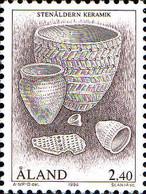 Aland Poste N** Yv: 88/90 Yv:11,25 Euro Archéologie (Thème) - Archéologie