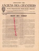 03-VICHY-87-LIMOGES-16-CHARENTE-CHANTIERS JEUNESSE -PETAIN-COLLABORATION- AOUT 1943-SAINT JUNIEN CHATELARD-BELLAC-NEXON - Guerra 1939-45