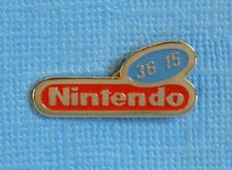 1 PIN'S //  ** 36 15 NINTENDO ** - Giochi