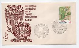 - FDC CADIZ 5.4.1974 - Bel Affranchissement Philatélique - - FDC