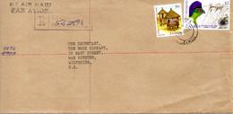 ZAMBIE. N°145 De 1975 Sur Enveloppe Ayant Circulé. Touraco. - Cuckoos & Turacos