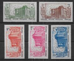 Guyane Française - Série N° 152 à 156 * *  - Cote : 115,50 € - Nuovi