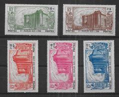 Inde - Série N° 118 à 122 * *  - Cote : 90,00 € - Nuevos
