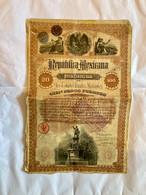RePÚBLICA  MEXICANA  DEUDA  CONSOLIDADA  --------- Obligation  De  100$ - Non Classificati