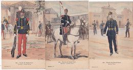LOT/002.........3 CPA ILLUSTRATIONS MILITAIRES - 5 - 99 Postcards