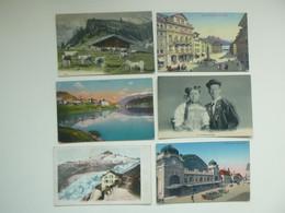 Lot De 60 Cartes Postales De Suisse     Lot Van 60 Postkaarten Van Schweiz  Zwitserland - 60 Scans - 5 - 99 Postcards