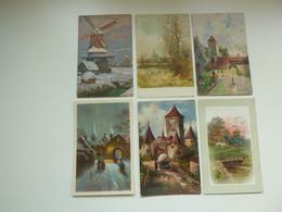 Beau Lot De 60 Cartes Postales De Fantaisie Paysage   Mooi Lot Van 60 Postkaarten Fantasie Landschap - 60 Scans - 5 - 99 Postcards