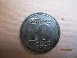 Germany: 10 Pfennig - Notgeld, Stadt Koblenz 1920 - Monetary/Of Necessity