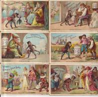 CHROMO LIEBIG REEKS LE CHAT BOTTE-S199-VA103-6 ST.FRANS-1888 - Liebig