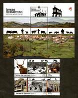 Portugal 2021 , Terras De Barroso - Satz + Block - Postfrisch / MNH / (**) - Unused Stamps