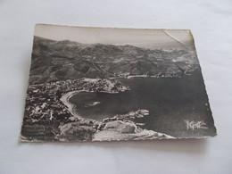 BANYULS ( 66 Pyrenees Orientales ) VUE AERIENNE ENSEMBLE DE LA VILLE ET DU LITTORAL 1956 - Banyuls Sur Mer