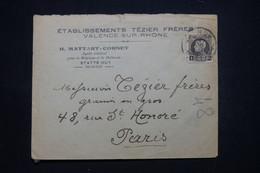 BELGIQUE - Enveloppe Commerciale De Statte Huy Pour La France - L 99650 - Covers & Documents