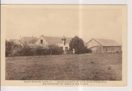 CPA-44-Loire Atlantique- SAINT-NAZAIRE- Eglise Provisoire De Notre-Dame D'Espérance- Vue D'ensemble De L'Eglise Et Des T - Saint Nazaire