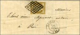 Grille / N° 1 Belles Marges Càd T 15 LAIGLE (59) Sur Lettre Avec Texte Adressée Localement. - SUP. - R. - 1849-1850 Ceres