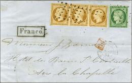 Rouleau De Points / N° 2 Très Belles Marges + N° 9 (bande De 3, 1ex Leg Def Et 1ex Infime Froissure) Càd PARIS (60) Sur  - 1849-1850 Ceres