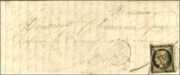 Plume + Càd T 15 PONTORSON (48) 16 JANV. 49 / N° 3 (leg Def). - TB. - R. - 1849-1850 Ceres