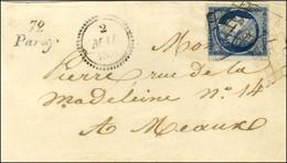 Grille / N° 4 (marge Inférieure Courte Mais Filet Non Touché) Cursive 72 / Paroy (erreur De Numérotation, La Cursive éma - 1849-1850 Ceres