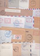 CHYPRE CYPRUS KIBRIS - Lot De 258 Enveloppes En Affranchissement Machine EMA ATM Stampless Mail Covers Cover Letter PP - Unclassified