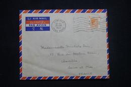 HONG KONG - Enveloppe De Kowloon Pour La France En 1953 - L 99667 - Covers & Documents