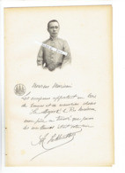PRINCE NORODOM ARUN YUKANTHOR 1860 1934 BANGKOK CAMBODGE PORTRAIT AUTOGRAPHE BIOGRAPHIE ALBUM MARIANI - Documents Historiques