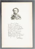 CHARLES CASTELLANI 1838 BRUXELLES 1913 BOIS LE ROI PEINTRE AUTEUR PORTRAIT AUTOGRAPHE BIOGRAPHIE ALBUM MARIANI - Historical Documents