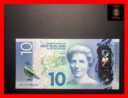 NEW ZEALAND  10 $  2015  P. 192   Polymer    UNC - New Zealand