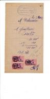 Facturette Mécanique électricité Automobiles DUVAL   à COURTENAY 45 Loiret - 1900 – 1949