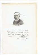 DOCTEUR CLAUDE ALEXANDRE PETIT 1842 CEBAZAT MEDECIN EAUX MINERALES  ROYAT PORTRAIT AUTOGRAPHE BIOGRAPHIE ALBUM MARIANI - Documents Historiques