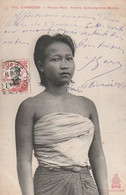 ***  CAMBODGE  ***  PHNOM-PENH Femme Cambodgienne Buste - TTB - Cambodja