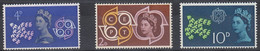 1961 Great Britain, Europa Complete Set 3 Values MNH - British Indian Ocean Territory (BIOT)