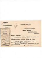 Facturette Apiculteur DELAMOUR  à COURTENAY 45 Loiret - 1900 – 1949