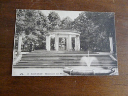 59  HAGUENAU - Monument Aux Morts - Haguenau