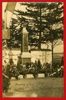 Carte Photo Bouzy - Le Monument Aux Morts En 1921 - Autres Communes