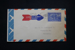CUBA - Enveloppe De Habana Pour Camaguey Par Avion - L 99699 - Covers & Documents