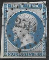 TP14,obl.,PC2514,Pont L'Eveque(CALVADOS),ind.3 - 1849-1876: Klassik