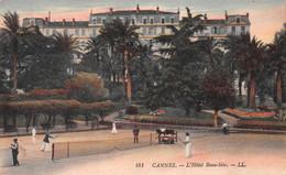 CANNES - L'Hôtel Beau-Site - Tennis - Tirage Couleurs - Cachet Militaire Hôpital Temporaire N'60 Bis - Cannes