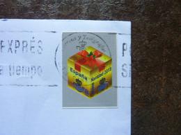 2018 Navidad  Used On A Letter - 2011-... Gebraucht