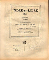 ANNUAIRE - 37 - Département Indre Et Loire - Année 1953 - édition Didot-Bottin - 100 Pages - Telephone Directories