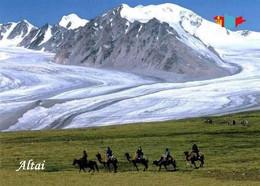Mongolia Altai Mountains UNESCO New Postcard Mongolei AK - Mongolia