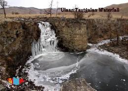 Mongolia Ulaan Tsutgalan Waterfall New Postcard Mongolei AK - Mongolia