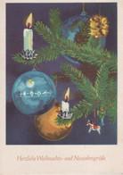 Herzliche Weihnachtsgrüsse Kugeln - Other