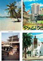 Lot CPM - CPSM MONDE (Pas Europe) - 2 Kg 580 - 500 Postkaarten Min.
