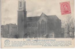 LIEGE / L ANCIENNE EGLISE ST PHOLIEN 1919 - Luik
