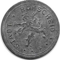 Notgeld  Höhscheid  50 Pfennig  1917  Zn   215.1 - Andere