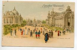 75 PARIS  Exposition Universelle 1900  Le Petit  Palais Et Le Grand Palais Raphael Tuck Serie 31 No 6    D15  2021 - Mostre