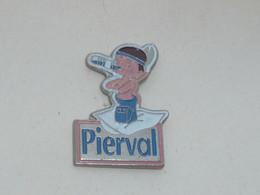 Pin's EAU PIERVAL, INDIEN - Bevande