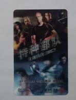 China Transport Cards, Shanghai City, Metro Card, Movie,G.I. Joe: Back 2 Revenge , 3D Card (1pcs) - Unclassified